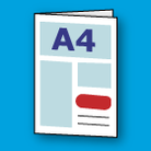 Folded-leaflet-icon-4pp-a4-product